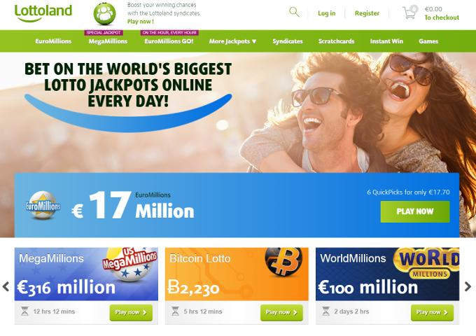 lottoland lotto verkkosivusto