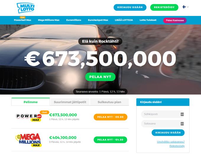 multilotto lotto verkkosivusto