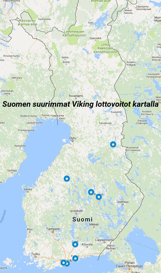 viking lotto voitot kartalla