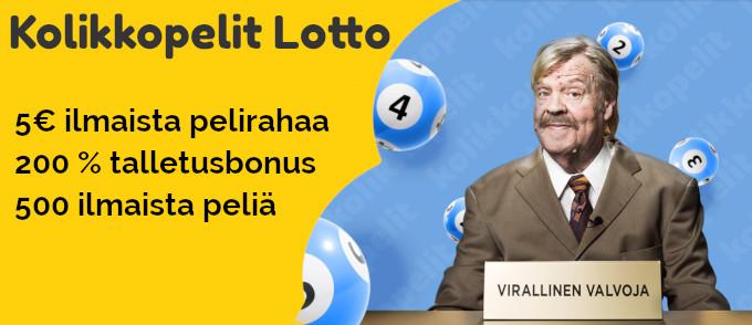 kolikkopelit lotto kaikki bonukset uudistettu 2018