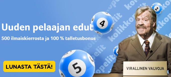 kolikkopelit lotto vesku loiri lottoarvonta uudistettu bonus