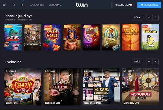 Twin Casinon esittely