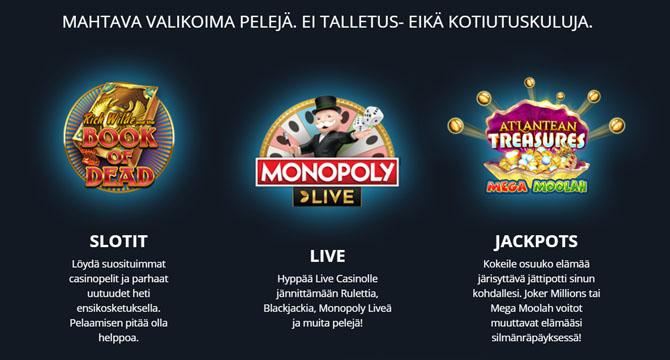 Twin Casino parhaat edut suomalaisille