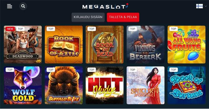 Sadat pelit tekevät tästä casinosta loistavan