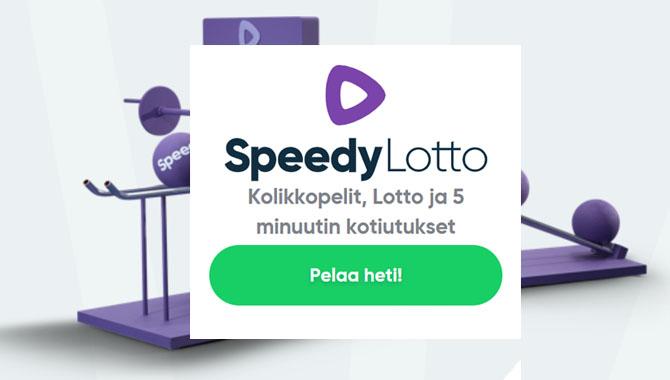 Kokeile Speedy Lottoa itse